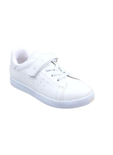 Cool Kız Çocuk Beyaz Günlük Spor Ayakkabı Beyaz